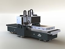 seven axis milling and hot embossing system flexpaet